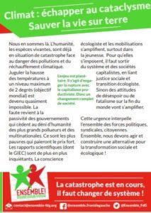 4 Pages Ensemble! : Urgence Climat