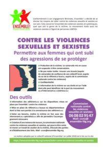 Tract : Femmes Contre Les Violences