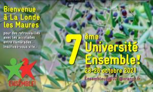 Ensemble! : Université Automne 2021